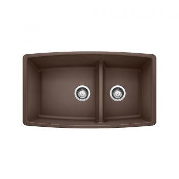 BLANCO 401186 - PERFORMA U 1¾ Low Divide Undermount Sink