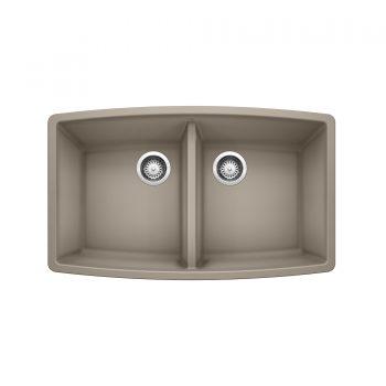 BLANCO 401189 - PERFORMA U 2 Undermount Kitchen Sink