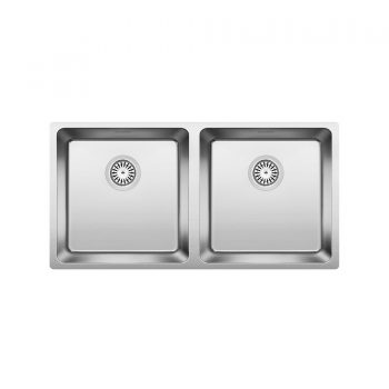 BLANCO 401334 - ANDANO U 2 Double Bowl Undermount Sink