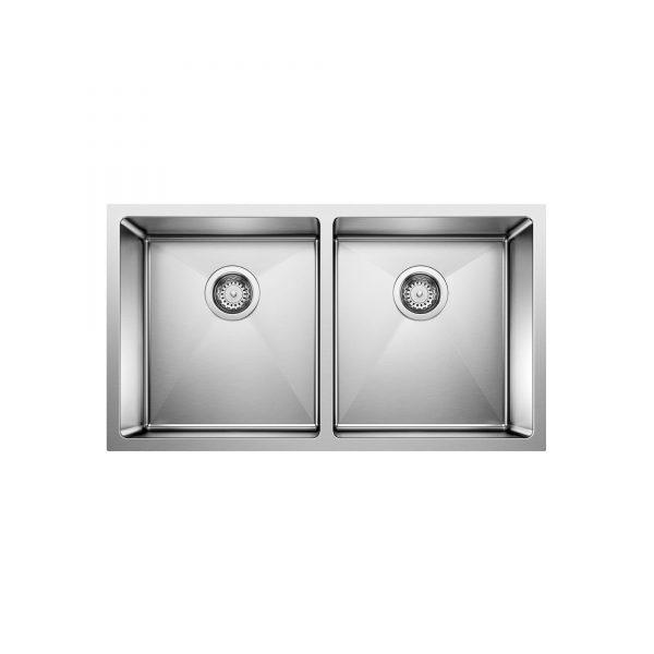 BLANCO 401519 - QUATRUS R15 U 2 Undermount Kitchen Sink