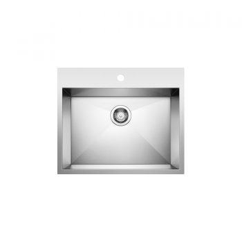 BLANCO 401644 - QUATRUS Drop In 1 Single Bowl Sink