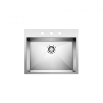 BLANCO 401645 - QUATRUS Drop In 1 Single Bowl Sink