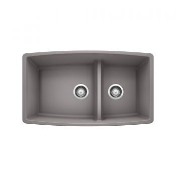 BLANCO 401710 - PERFORMA U 1¾ Low Divide Sink