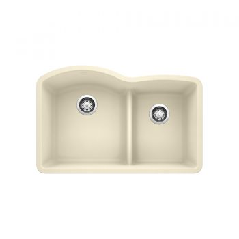 BLANCO 401810 - DIAMOND U 1 ¾ Low Divide Double Bowl Sink