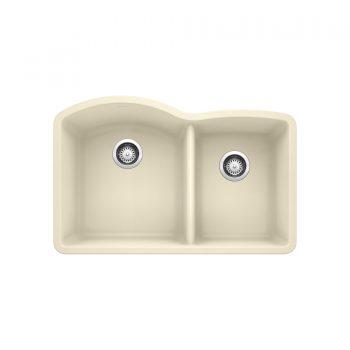 BLANCO 401811 - DIAMOND U 1 ¾ Double Bowl Undermount Sink