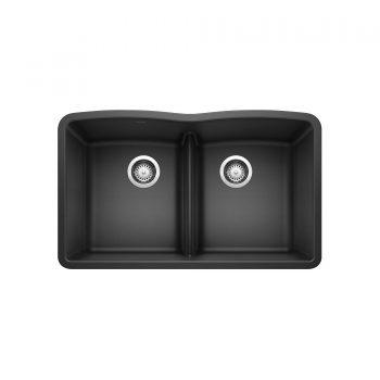 BLANCO 401834 - DIAMOND U 2 Low Divide Kitchen Sink
