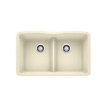 BLANCO 401839 - DIAMOND U 2 Low Divide Undermount Sink