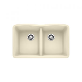 BLANCO 401852 - DIAMOND U 2 Double Bowl Undermount Sink