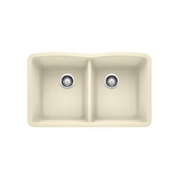 BLANCO 401852 - DIAMOND U 2 Double Bowl Undermount Sink