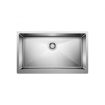 BLANCO 401868 - QUATRUS R15 U Super Single Farmhouse Sink