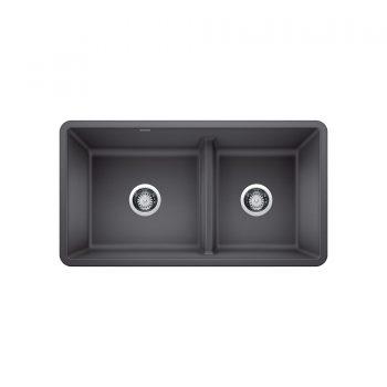 BLANCO 402067 - PRECIS U 1 ¾ Low Divide Undermount Sink