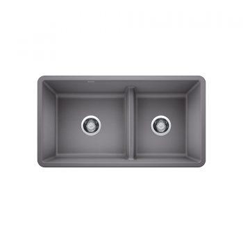 BLANCO 402068 - PRECIS U 1 ¾ Low Divide Sink