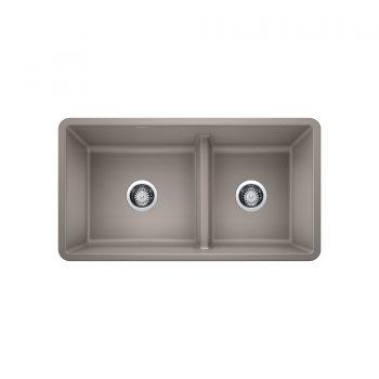 BLANCO 402069 - PRECIS U 1 ¾ Low Divide Undermount Sink