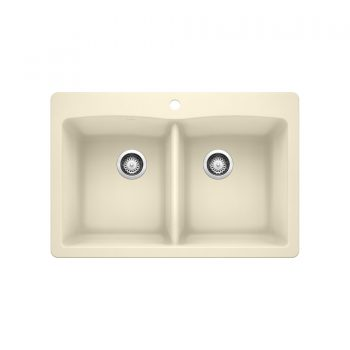 BLANCO 402133 - DIAMOND 210 Double Bowl Drop-in Sink