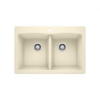 BLANCO 402133 - DIAMOND 210 Double Bowl Drop-in Sink