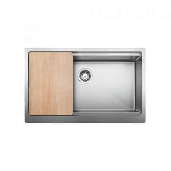 BLANCO 402254 - Quatrus R15 Ergon S. Single Farmhouse Sink