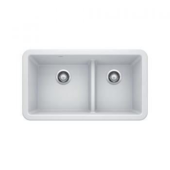 BLANCO 402337 - Ikon 33 1 ¾ LD Double Bowl Farmhouse Sink