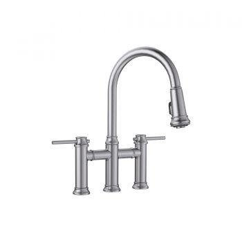 BLANCO 442505 - EMPRESSA Pull-down Dual Handle Faucet
