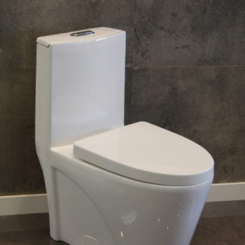 Kollezi O Jazz – One-piece Elongated Dual Flush Toilet
