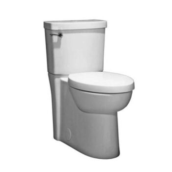 AMERICAN STANDARD 2794104.020 Studio Concealed Trapway Right Height FloWise Elongated toilet with Seat