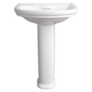 DXV D20005800.415 ST. GEORGE PEDESTAL BATHROOM SINK