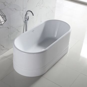 "Bango Italia Diamond 67 FreeStanding Bath Tub 67"" x 32"" x 24"""