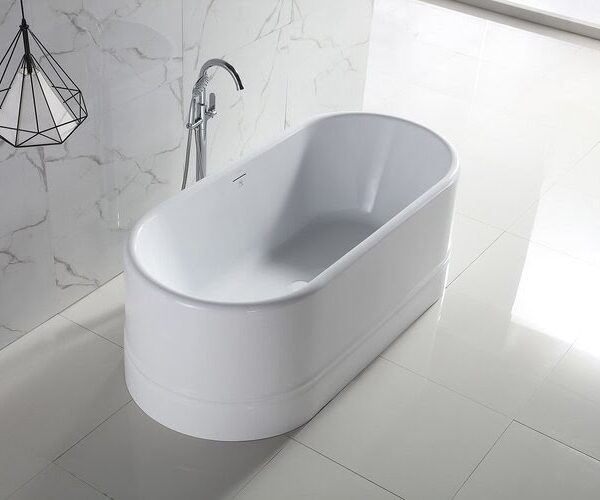 "Bango Italia Diamond 67 FreeStanding Bath Tub 67"" x 32"" x 24"""