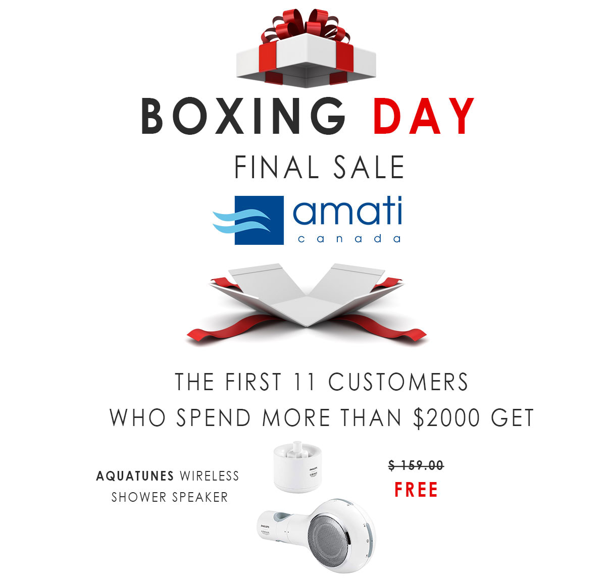 Boxing Day 2020 Amati Canada