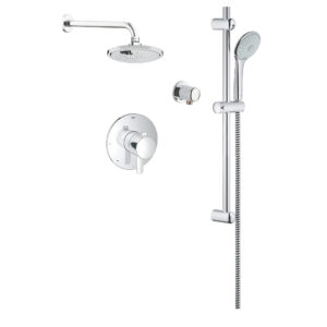 Grohe 117166 - Cosmopolitan Dual Shower System with Pressure Balance Valve.