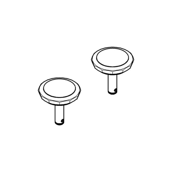 Grohe 18089VP0 - Swarovski Crystal Handles (Pair)