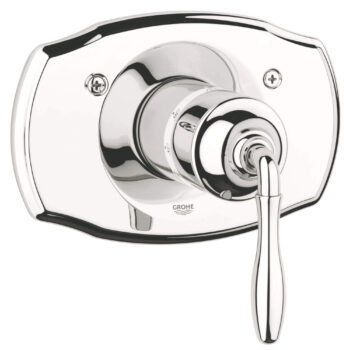 Grohe 19614BE0 – Thermostatic Valve Trim with Lever Handle