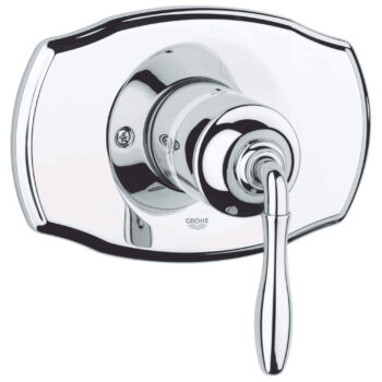 Grohe 19708000 – Pressure Balance Valve Trim with Lever Handle