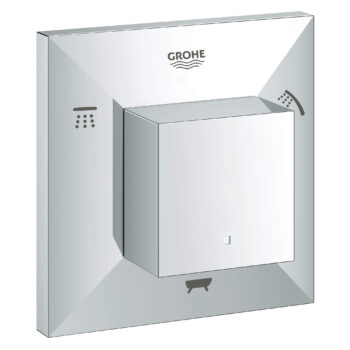 Grohe 19799000 – 3-Way Diverter Trim