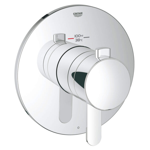 Grohe 19869000 - Single Function Thermostatic Valve Trim