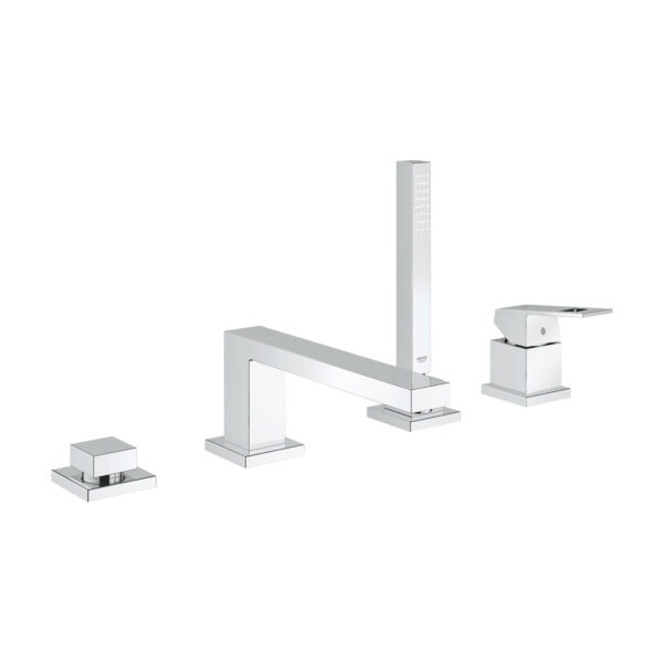 Grohe 19897001 - 4-Hole Single-Handle Deck Mount Roman Tub Faucet with Hand Shower