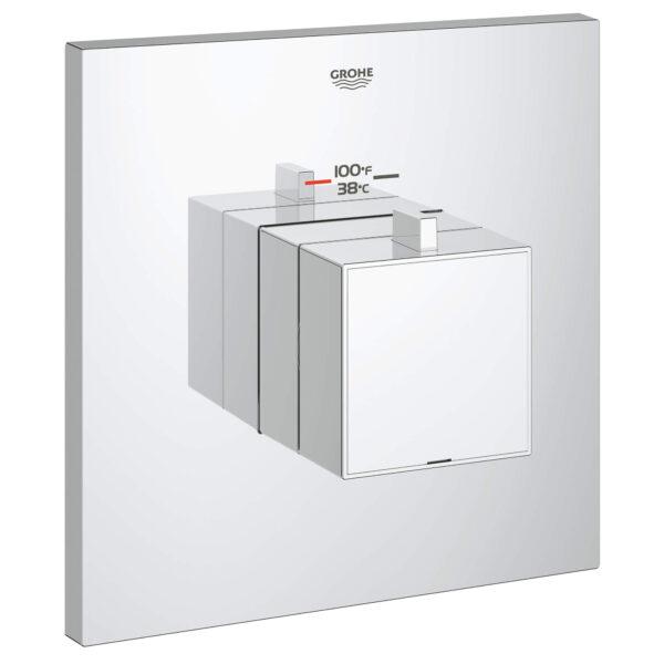 Grohe 19928000 - Custom Shower Thermostatic Valve Trim