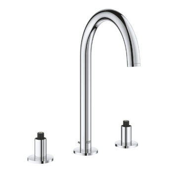 Grohe 20069003 – 8″ Widespread 2-Handle M-Size Bathroom Faucet 4.5 L/min (1.2 gpm)