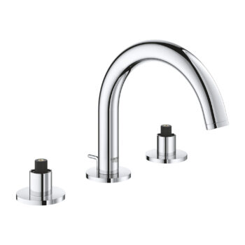 Grohe 20072003 – 8″ Widespread 2-Handle S-Size Bathroom Faucet 4.5 L/min (1.2 gpm)