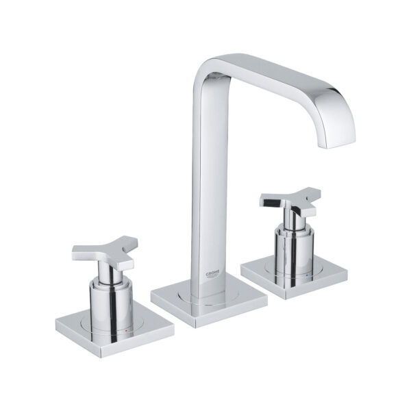 """Grohe 2014800A - 8"""" Widespread 2-Handle M-Size Bathroom Faucet 4.5 L/min (1.2 gpm)"""