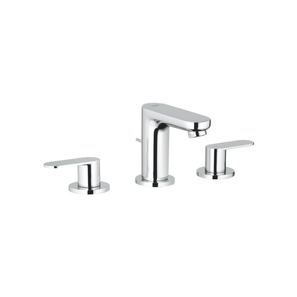 """Grohe 2019900A - 8"""" Widespread 2-Handle S-Size Bathroom Faucet 4.5 L/min (1.2 gpm)"""