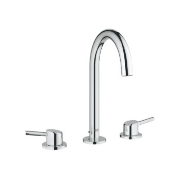 Grohe 2021700A – 8″ Widespread 2-Handle L-Size Bathroom Faucet 4.5 L/min (1.2 gpm)