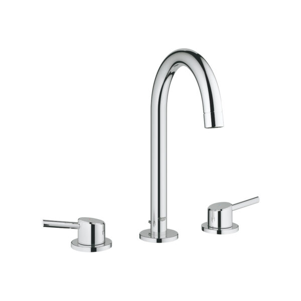 """Grohe 2021700A - 8"""" Widespread 2-Handle L-Size Bathroom Faucet 4.5 L/min (1.2 gpm)"""