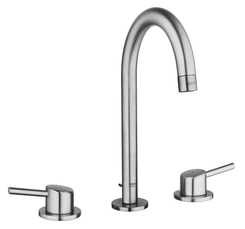 """Grohe 20217ENA - 8"""" Widespread 2-Handle L-Size Bathroom Faucet 4.5 L/min (1.2 gpm)"""