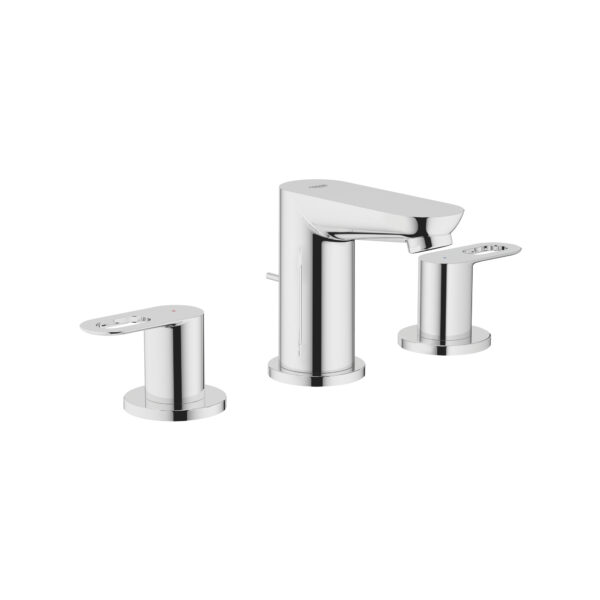 """Grohe 20225000 - 8"""" Widespread 2-Handle S-Size Bathroom Faucet 5.7 L/min (1.5 gpm)"""
