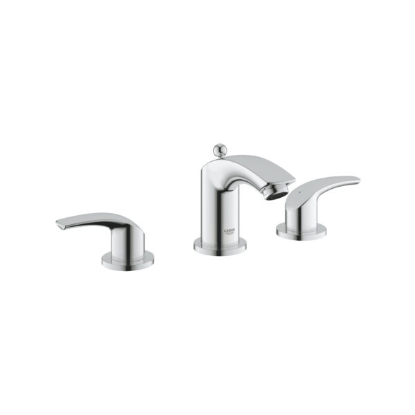 """Grohe 2029400A - 8"""" Widespread 2-Handle S-Size Bathroom Faucet 4.5 L/min (1.2 gpm)"""