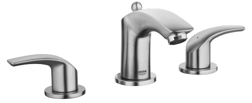 """Grohe 20294ENA - 8"""" Widespread 2-Handle S-Size Bathroom Faucet 4.5 L/min (1.2 gpm)"""