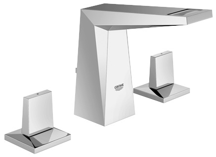 """Grohe 2034300A - 8"""" Widespread 2-Handle S-Size Bathroom Faucet 4.5 L/min (1.2 gpm)"""