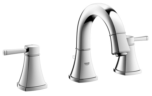 """Grohe 20418ENA - 8"""" Widespread 2-Handle S-Size Bathroom Faucet 4.5 L/min (1.2 gpm)"""