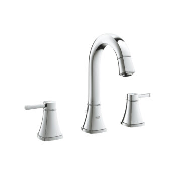 Grohe 2041900A – 8″ Widespread 2-Handle M-Size Bathroom Faucet 4.5 L/min (1.2 gpm)