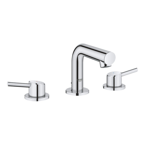 """Grohe 20572001 - 8"""" Widespread 2-Handle S-Size Bathroom Faucet 4.5 L/min (1.2 gpm)"""